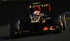 SUZUKA, JAPAN - OCTOBER 12:  Romain Grosjean of France and Lotus drives during qualifying for the Japanese Formula One Grand Prix at Suzuka Circuit on October 12, 2013 in Suzuka, Japan.  (Photo by Clive Rose/Getty Images)