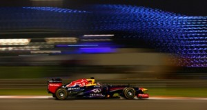 ABU DHABI, UNITED ARAB EMIRATES - NOVEMBER 01:  Sebastian Vettel of Germany and Infiniti Red Bull Racing drives during practice for the Abu Dhabi Formula One Grand Prix at the Yas Marina Circuit on November 1, 2013 in Abu Dhabi, United Arab Emirates.  (Photo by Paul Gilham/Getty Images)